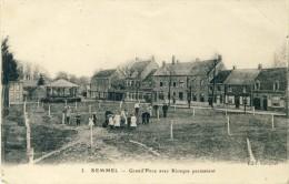 Kemmel - Grand´Place Avec Kiosque Permanent ( Verso Zien ) - Heuvelland