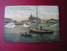 ==  Finnland Helsinforce1908 Hafen Schiffe Fischerei - Finnland