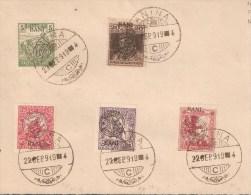 Fllet Commémoratif Oblitéré ANINA 22.SEPT.1919 - Otros
