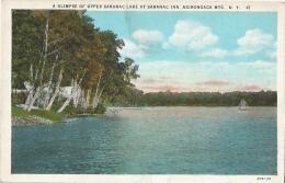A Glimpse Of Upper Saranac Lake At Saranac Inn - Adirondack NY - Adirondack
