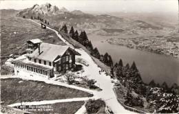 PostkaartZwitserland  B154   Rigi-Staffelhöhe Hotel Edelweiss Mit Luzern - Ohne Zuordnung