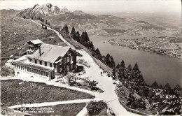 PostkaartZwitserland  B154   Rigi-Staffelhöhe Hotel Edelweiss Mit Luzern - Non Classés