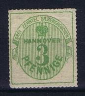 Deutsche Reich, Hannover Mi 21MH/* - Hannover