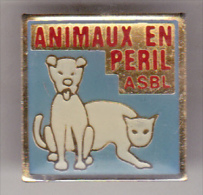 Animaux En Péril ASBL Pin Badge - Associations