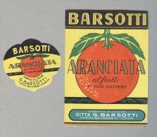 ARANCIATA BARSOTTI..BELVEDERE...ETICHETTA...ETIQUETTE - Fruits & Vegetables