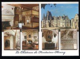 CPM  14 FONTAINE HENRY Le Château Multi Vues - Autres Communes