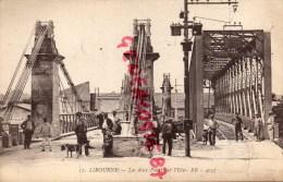 33 - LIBOURNE - LES DEUX PONTS SUR L' ISLE - Libourne