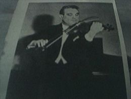 Magazine Item 1949 - Small Picture Denmakr Emil Telmanyi Danish Violinist - 1900-1949