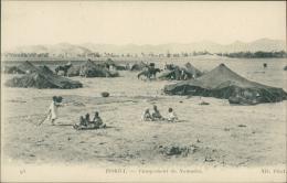 ALGERIE  BISKRA / Campement De Nomades / - Biskra
