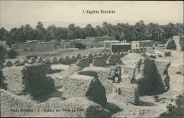 ALGERIE  BISKRA / Ruines Des Forts En Terre / - Biskra