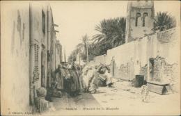 ALGERIE  BISKRA / Minaret De La Mosquée / - Biskra