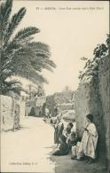 ALGERIE  BISKRA / Une Rue Arabe Dans Bab-Darb / - Biskra