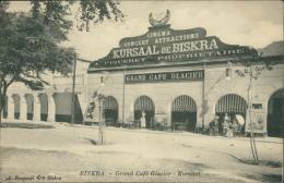 ALGERIE  BISKRA / Grand Café Glacier, Kursaal / - Biskra