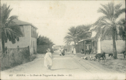 ALGERIE  BISKRA / La Route De Touggourth Au Moulin / - Biskra