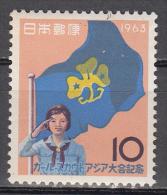 Japan  Scott No. 794    Mnh   Year 1963 - Gebruikt