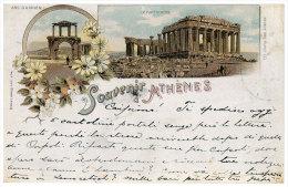 Greece  (REPRINT) - Athenes - SOUVENIR D'ATHENES - Arc O'Adrien - - Grecia
