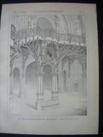 LA CONSTRUCTION MODERNE 1901. ESCALIER Du GRAND PALAIS Des BEAUX ARTS à PARIS (75).. Architecte LOUVET - Architettura