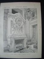 LA CONSTRUCTION MODERNE 1901. PALAIS D´ORSAY à PARIS (75).. Architecte LALOUX - Architecture