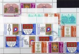 Kleinbogen 1988 Bulgarien 3713,3728,3935 Plus 6-KB O 11€ Stamp On Stamp Sheetlet Expo Philatelic Indien Germany Bulgaria - Gemeinschaftsausgaben