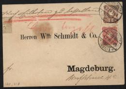 D.R,Nr.43c,41b,MIf,gep. (5630)  Preis Wurde Reduziert !! - Allemagne