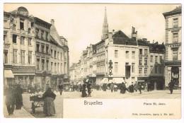 """""""Bruxelles - Place Saint Jean"""" - Places, Squares"""