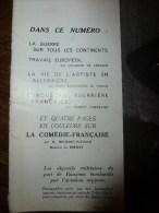 1942 Guerre Mondiale;NAURU;Artiste Jaeckelsbruch,Munich,Duss Eldorf ;Le Beurre ;JAPON;Barthes-l´Adour; Cornillé-Bauné - Journaux - Quotidiens
