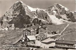 PostkaartZwitserland  B191 Kleine Scheidegg 2064 M Mit Eiger Und Mönch - Ohne Zuordnung