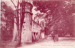 Cpa NANGIS , , Ancien Château Féodal  (12.31) - Châteaux