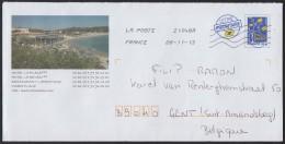 2013 - FRANCE - Cover - PAP Sainte-Maxime + 21048A (LA VALETTE DU VAR TOULON) - Entiers Postaux