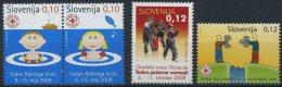 Slovenia 2008 - Red Cross - MNH Michel Z53-Z56 - Slovenia