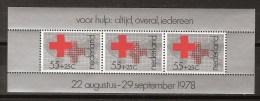 NVPH Netherlands Nederland Pays Bas Holanda Sheet 1164 MNH ; Rode Kruis, Croix Rouge, Cruz Roja, Rote Kreuz, Red Cross - Rode Kruis