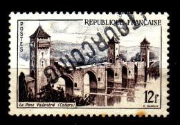 """Griffe Linéaire """" TOURCOING  """" S/ Y/T N° 1039 - Pont Valentré - Cahors. - Marcophilie (Timbres Détachés)"""