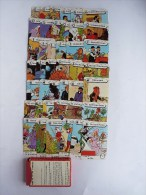 JEU 7 Sept FAMILLES - TINTIN - HEMMA Rouge 1983 - HERGE - Libri, Riviste, Fumetti