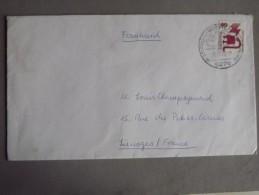 Enveloppe Allemagne Fédérale Prise - BRD
