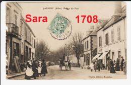 03 JALIGNY, Rue Du Pont. ( VOIR SCAN ). - France