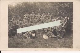 Alsace Ste Marie Mines 15/10/15 Orchestre All Landw Inf Reg 81 Bat 89 Inf Div 118   Poilus 1914-1918 14-18 Ww1 WWI 1.wk - War, Military