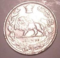 Iran 2000 Dinars 1306 Silver - Iran