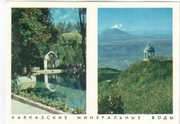 Caucasian Mineral Waters 1971-1972 - Calendar - Russia USSR - Unused - Kalender