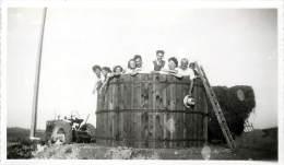 SERIES DE 6 PHOTOS CHATEAU LANDON LA FERME DE BRUZELLES COEUILLETTE DE L'OEILLETTE EN 1943 - Orte