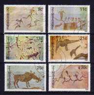 Zimbabwe - 1982 - Rock Paintings - Used/CTO - Zimbabwe (1980-...)