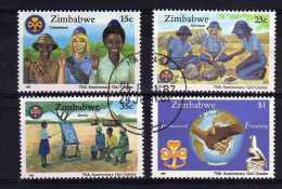 Zimbabwe - 1987 - 75th Anniversary Of Girl Guides - Used/CTO - Zimbabwe (1980-...)