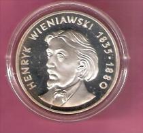 POLEN 100 ZLOTYCH 1979 AG PROOF HENRYK WIENIAWSKI - Polen