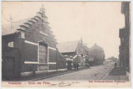20735g ECOLE Des FILLES - Frameries - 1906 - Frameries