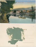AK Ilsenburg, Partie Am Teich, Boote, Menschen - Ilsenburg