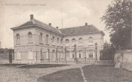 Cpa/pk 1920 Bouchaute Boekhoute Assenede Kasteel Van Mad. Engels - Assenede