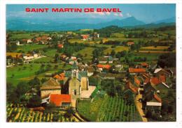 SAINT MARTIN DE BAVEL (Ain) - Vue Générale - Format CPM - - Autres Communes