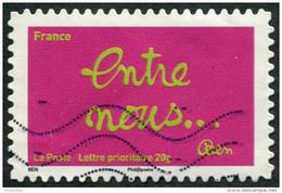 Pays : 189,07 (France : 5e République)  Yvert Et Tellier N° : Adhésif   612 (o) - Luchtpost