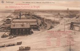 Cpa/pk 1910 Zeebrugge Privé Kaart Carte Privé Cie Des Installations De Bruges Nels - Zeebrugge