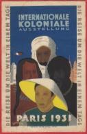 Exposition Coloniale De 1931 à Paris / Editeur Robert Lang / Illustrateur Denneuves /n.é. - Universal Expositions