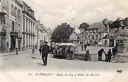 58. Audierne - Route Du Cap Et Place Du Marché - 29 - - Audierne